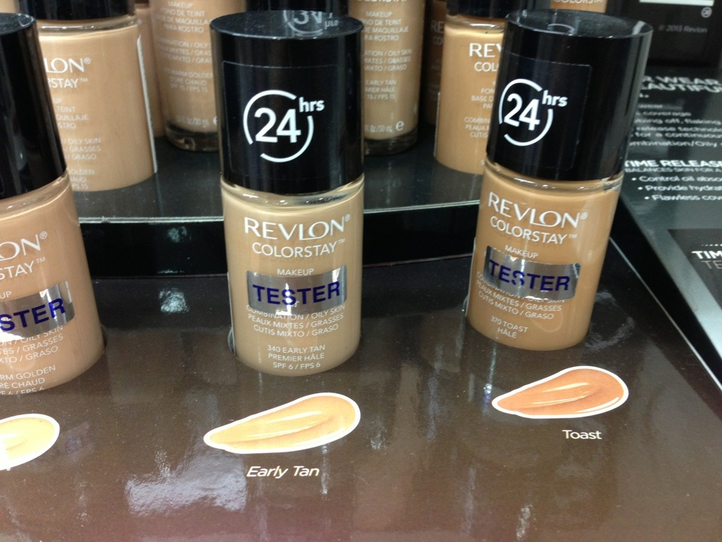 Review: Entire collection of 24 hour Revlon Colorstay Makeup ...