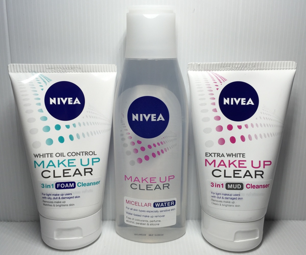 "Review: The All New ""NIVEA MAKEUP CLEAR"" Series"